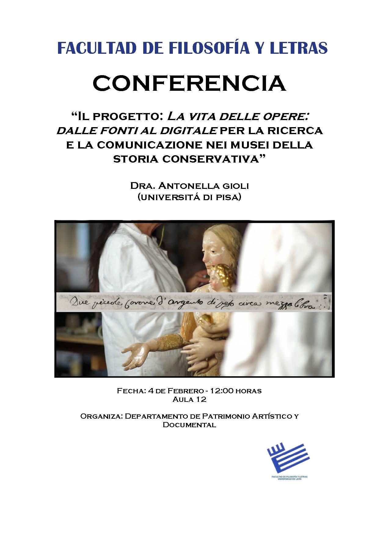 Conferencia Antonella Gioli