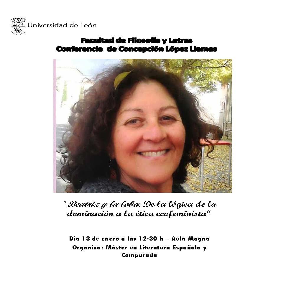 Conferencia Concha López